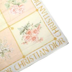 DIOR Floral Vintage Handpocket Scarf